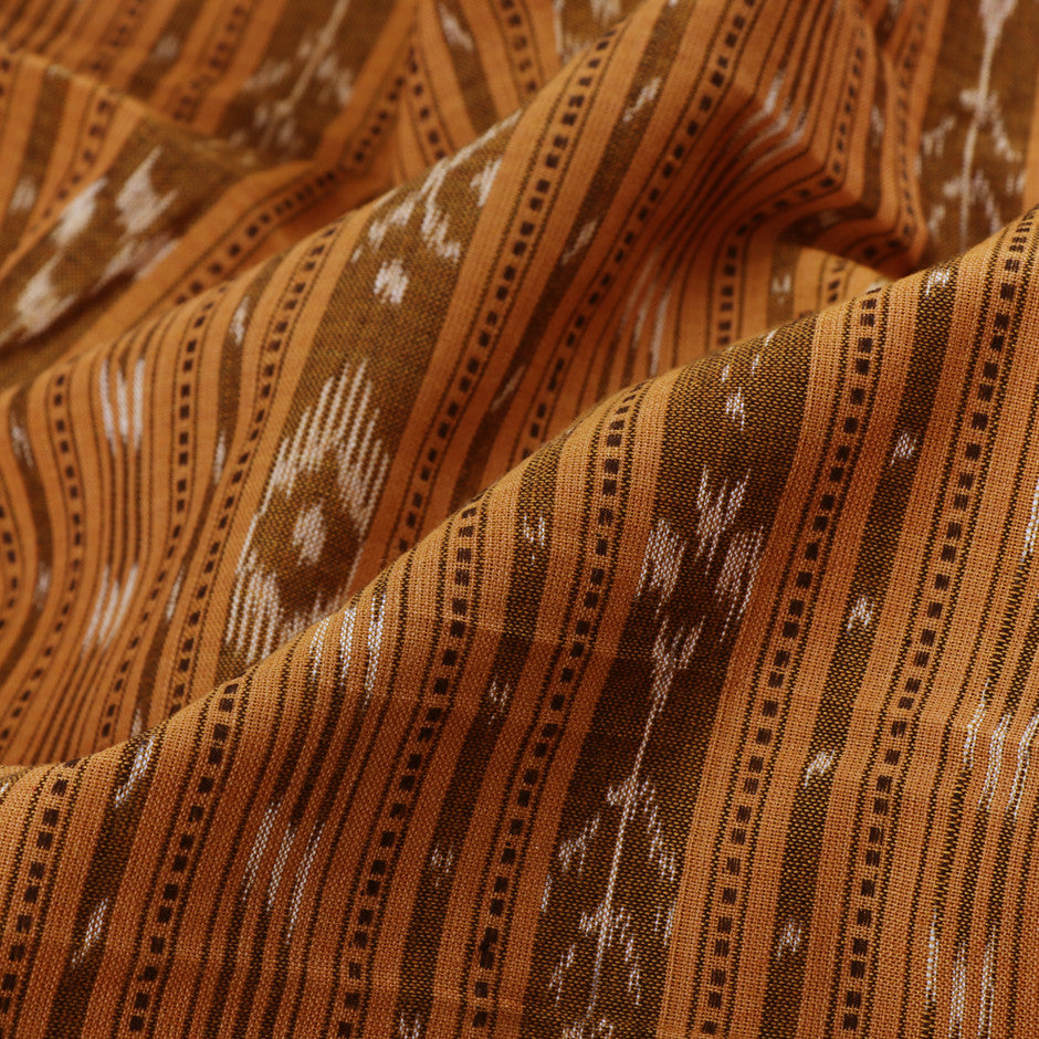 Kanakavalli Ikat Cotton Blouse Length 360-06-21698 - Fabric View