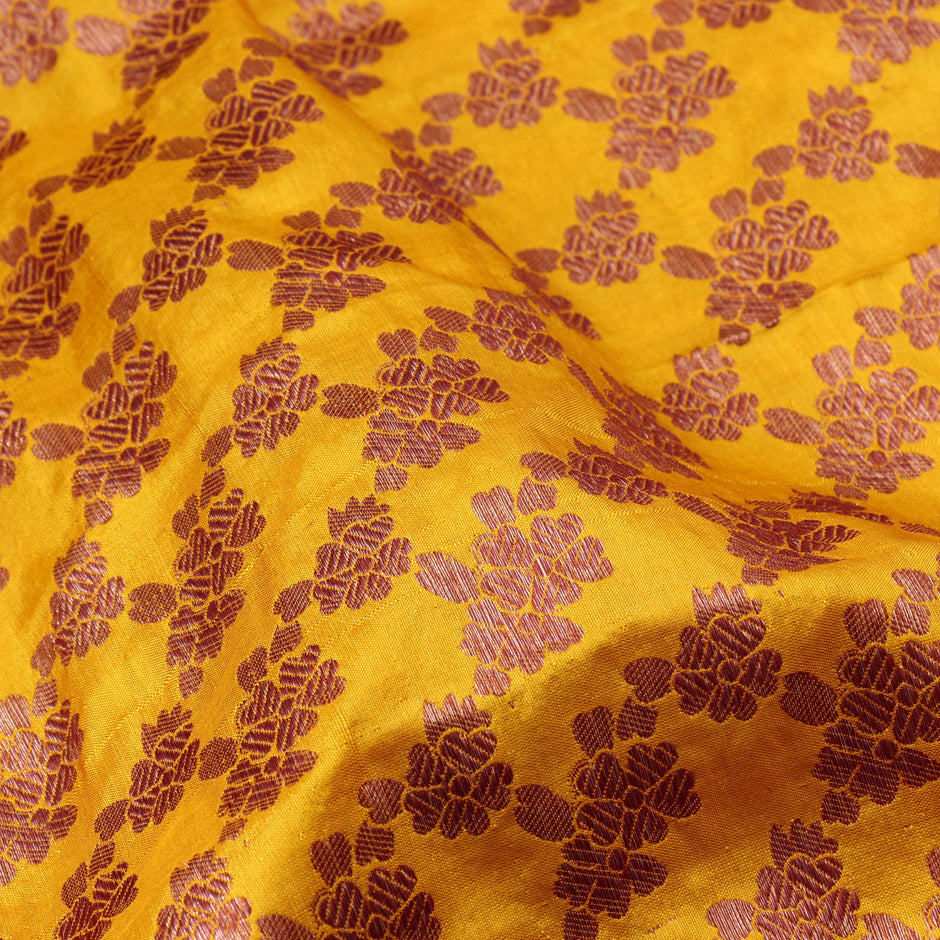 Kanakavalli Brocade Silk Blouse Length 200-06-44848 - Fabric View