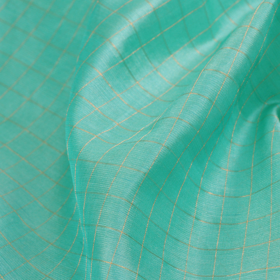 Kanakavalli Kattam - Vari Silk Blouse Length 170-06-12472 - Fabric View