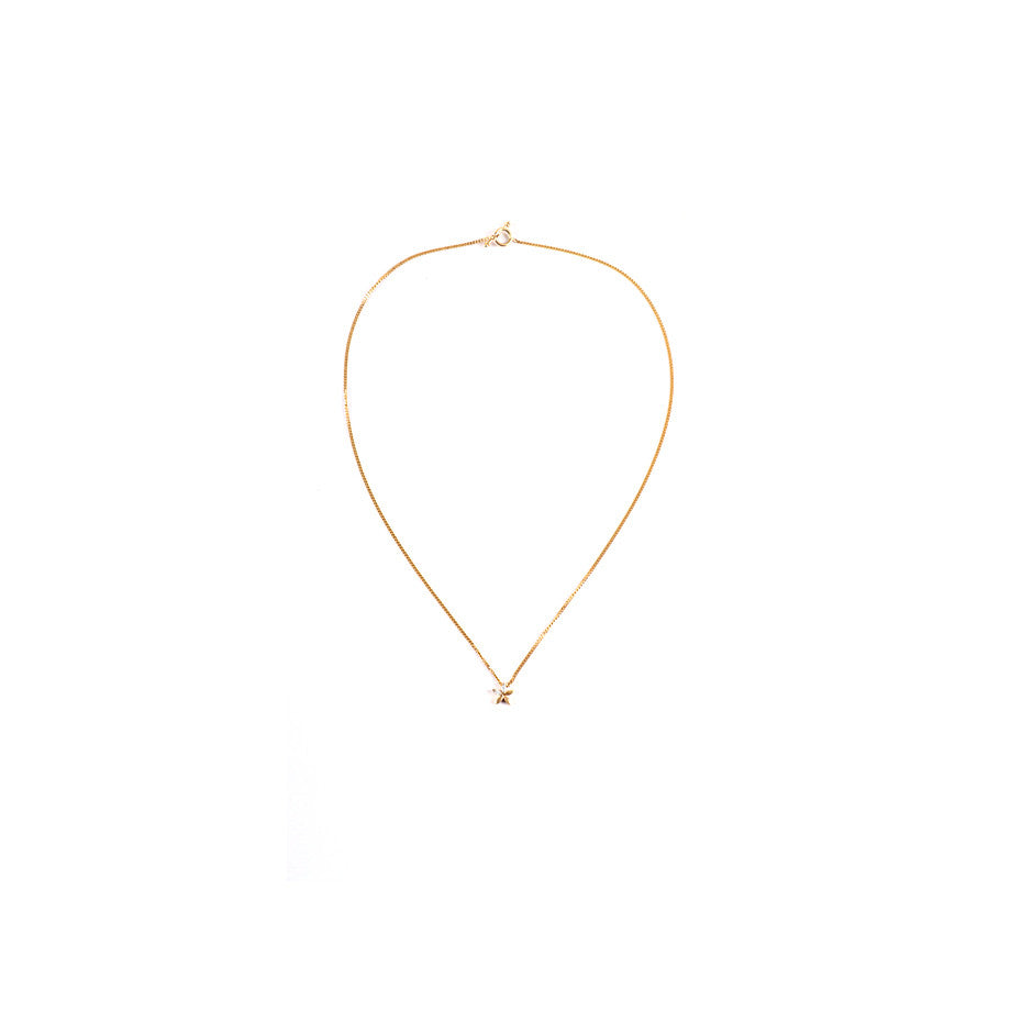 Ahalya Gold & Marq. Diamond Baby Pendant With Chain 0208070001A1 - Cover View