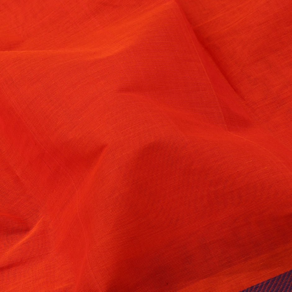 Kanakavalli Kanchi Cotton Sari 071-09-59938 - Fabric View