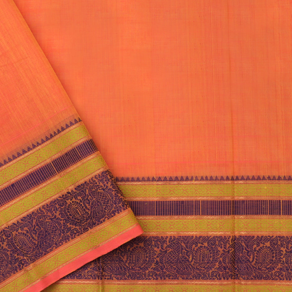 Kanakavalli Kanchi Cotton Sari 071-09-92239 - Blouse View