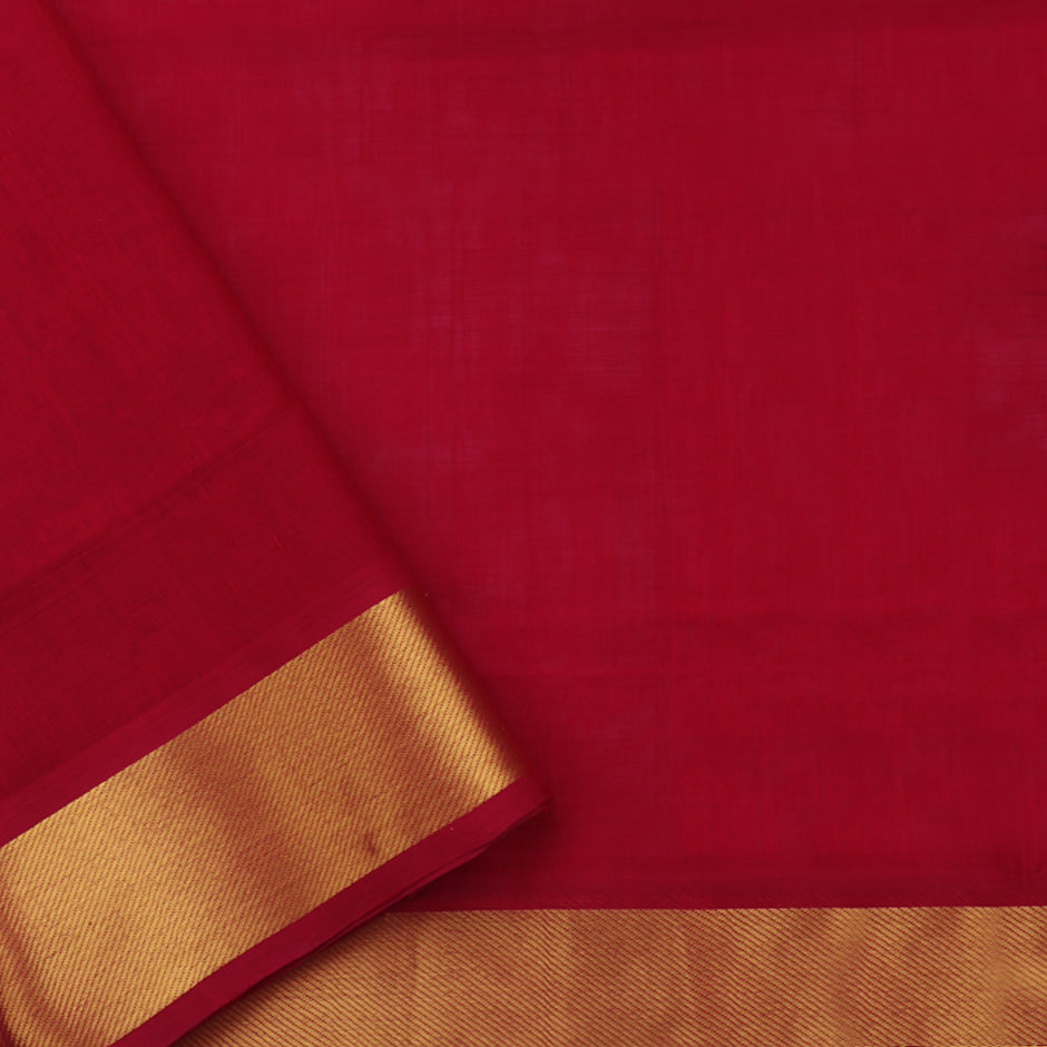 Kanakavalli Silk/Cotton Sari 071-08-41860 - Blouse View