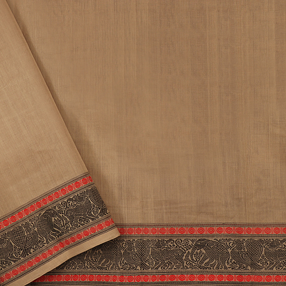 Kanakavalli Kanchi Cotton Sari 071-09-61804 - Blouse View