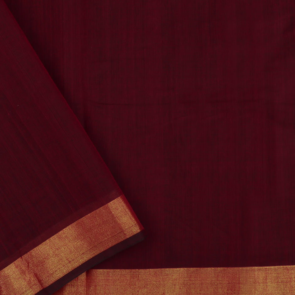 Kanakavalli Kanchi Cotton Sari 071-09-47781 - Blouse View