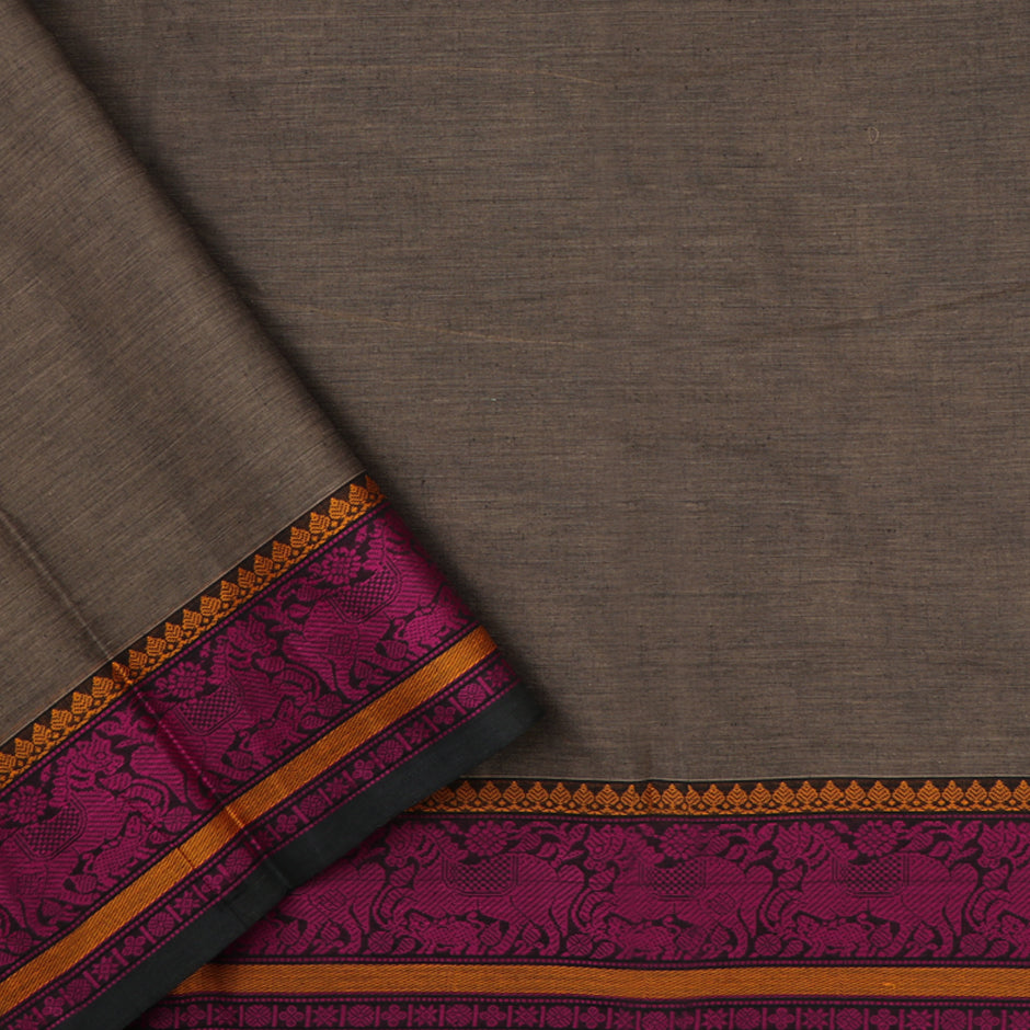 Kanakavalli Kanchi Cotton Sari 071-09-59543 - Blouse View