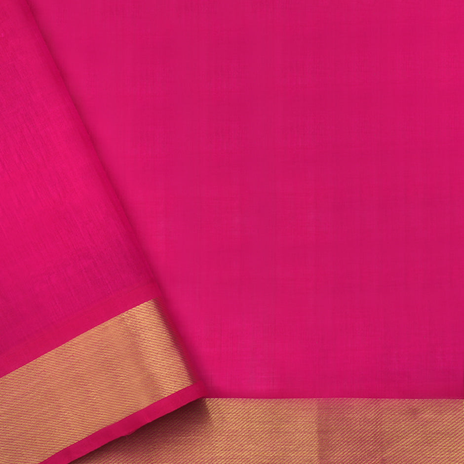 Kanakavalli Silk/Cotton Sari 550-08-87436 - Blouse View