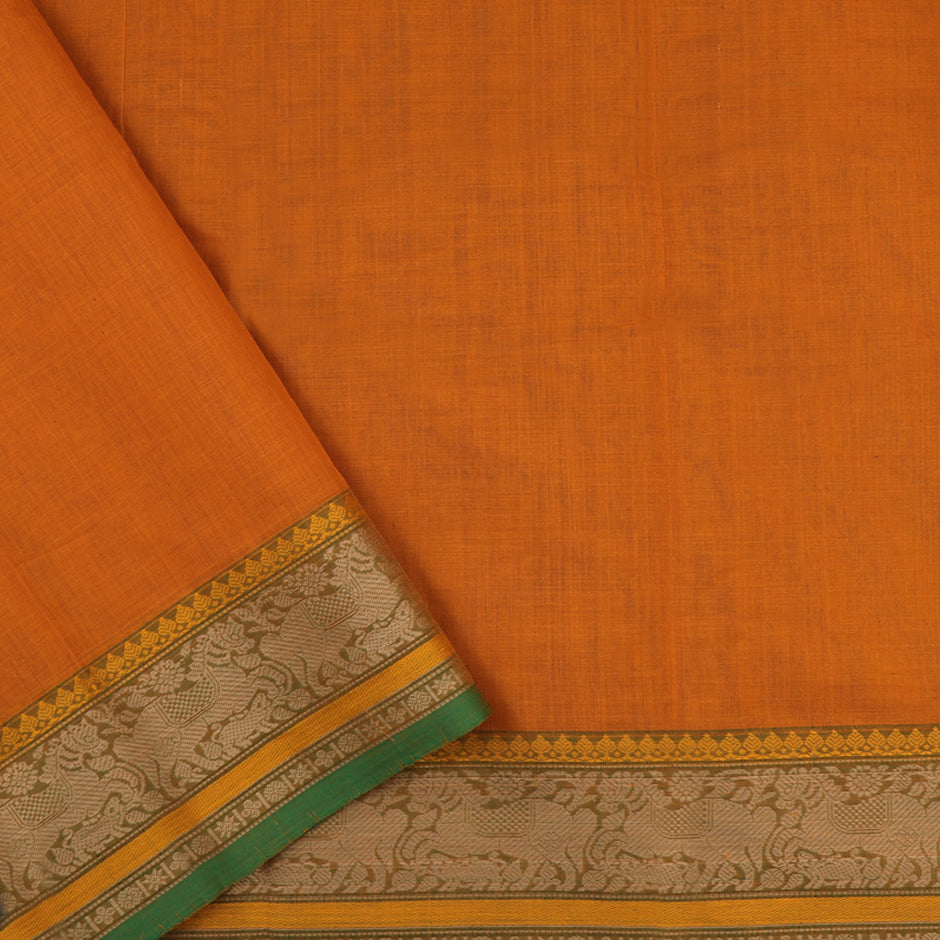 Kanakavalli Kanchi Cotton Sari 071-09-59544 - Blouse View