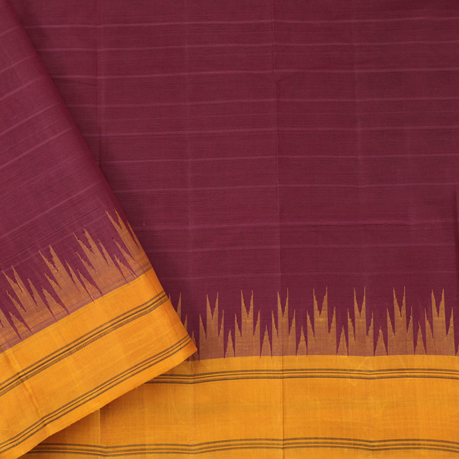 Kanakavalli Kanchi Cotton Sari 071-09-61464 - Blouse View