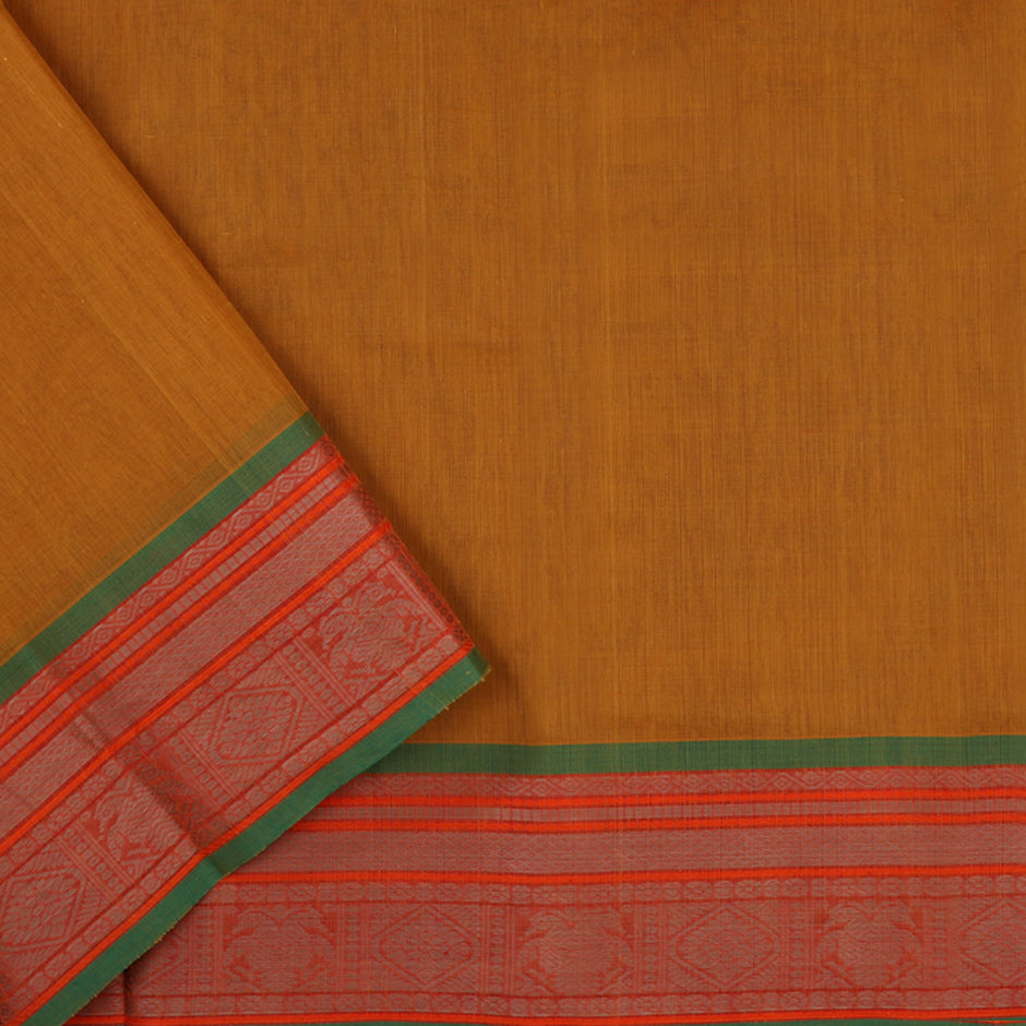 Kanakavalli Kanchi Cotton Sari 071-09-56438 - Blouse View