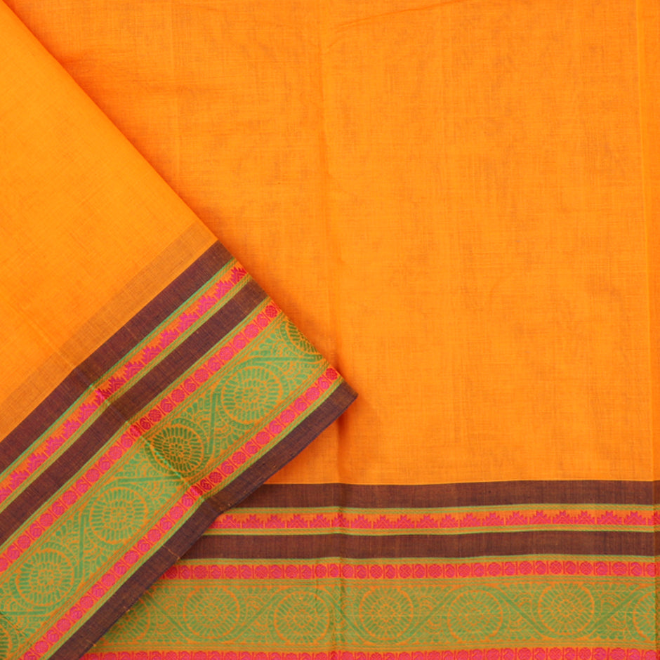 Kanakavalli Kanchi Cotton Sari 071-09-56499 - Blouse View