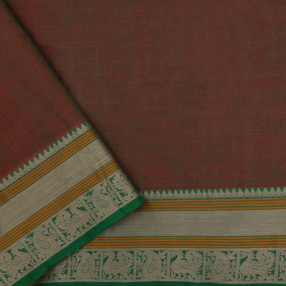 Kanakavalli Kanchi Cotton Sari 071-09-50509 - Blouse View