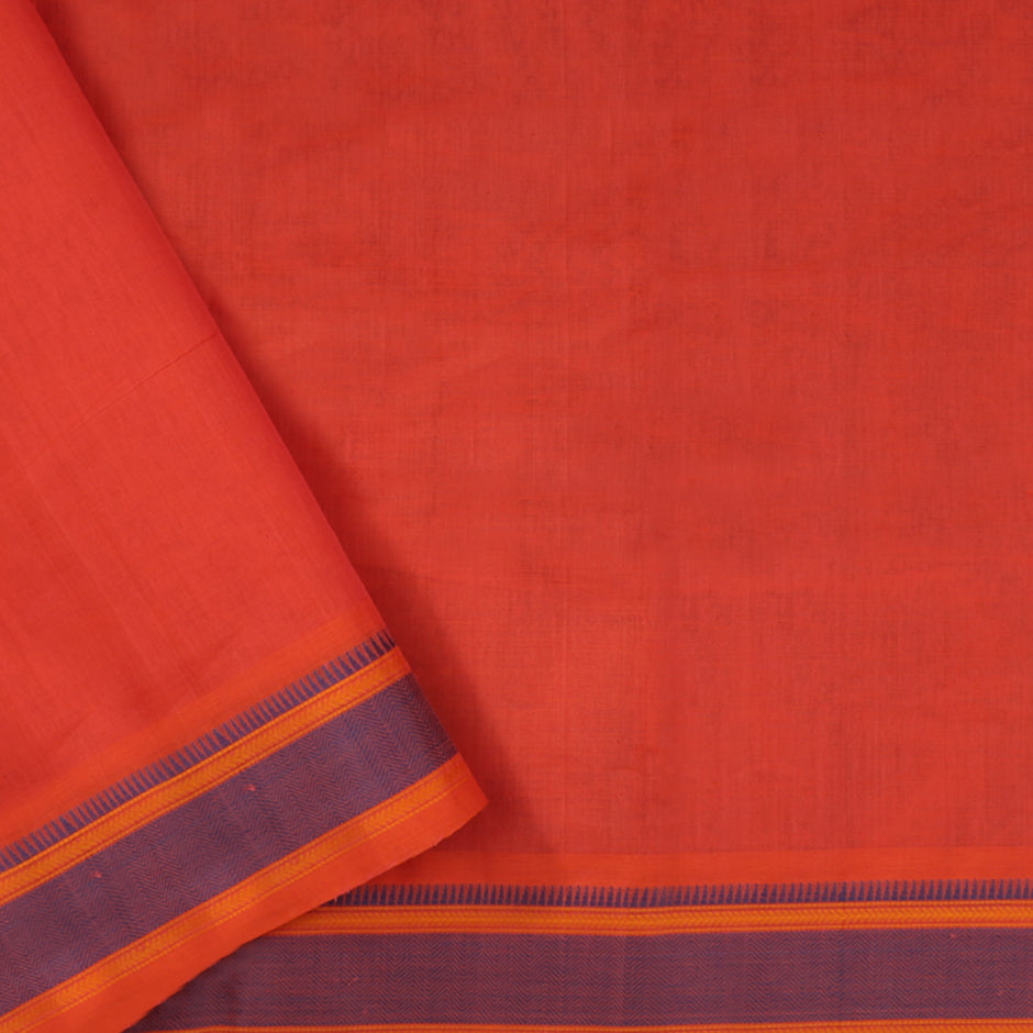 Kanakavalli Kanchi Cotton Sari 071-09-61771 - Blouse View
