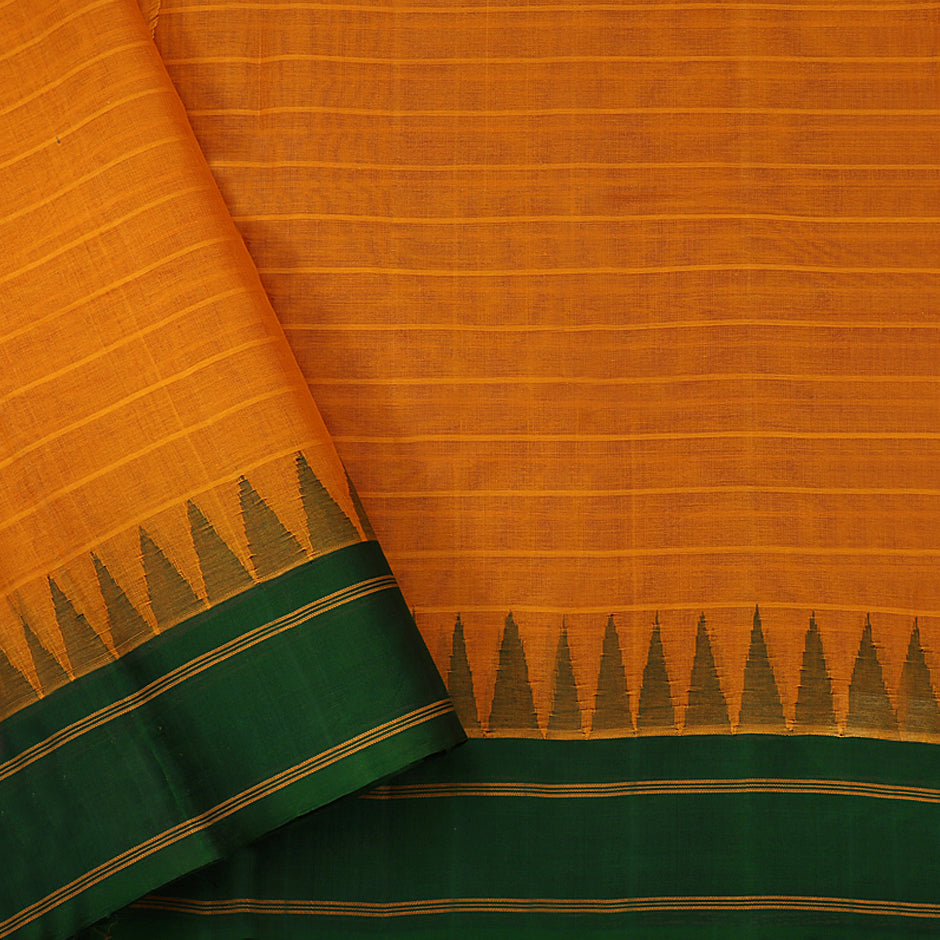 Kanakavalli Kanchi Cotton Sari 071-09-61471 - Blouse View