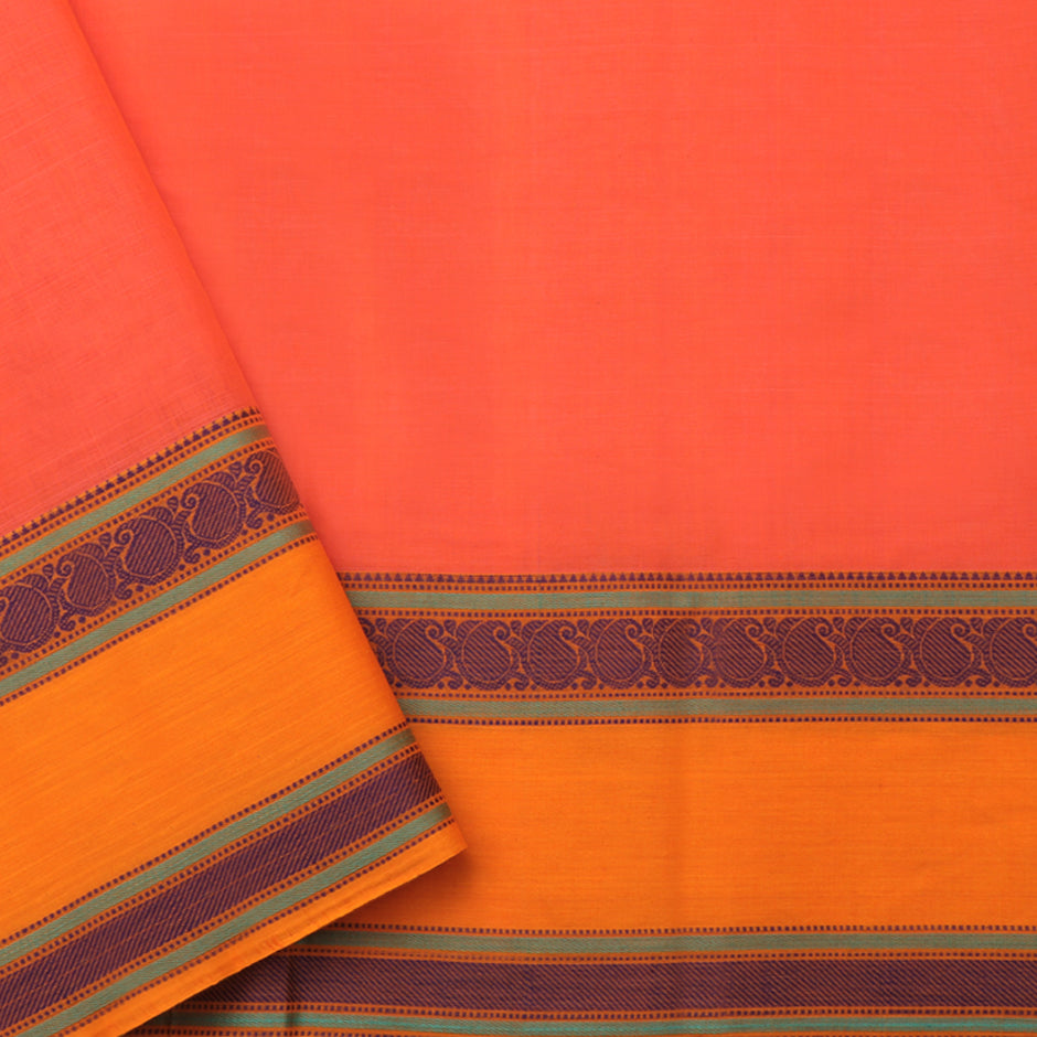 Kanakavalli Kanchi Cotton Sari 071-09-74140 - Blouse View