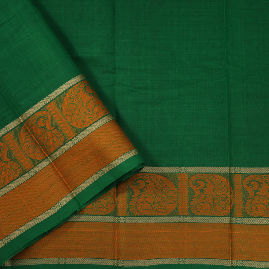 Kanakavalli Kanchi Cotton Sari 071-09-41774 - Blouse View
