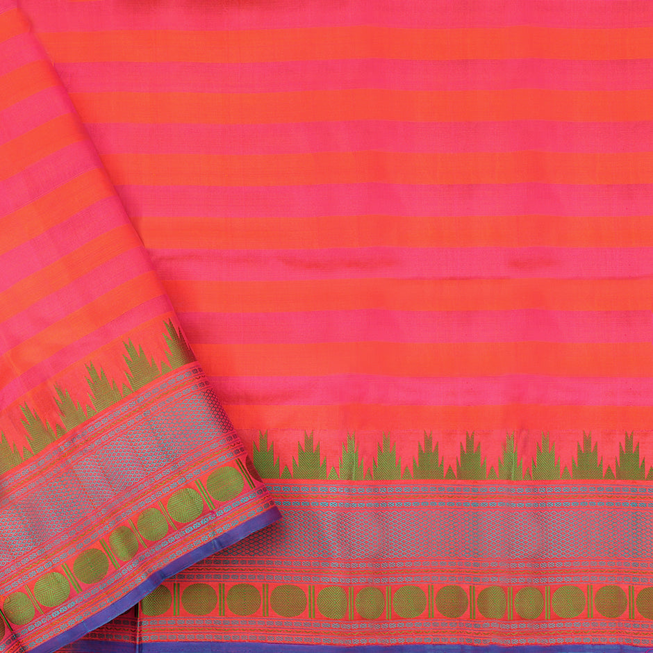 Kanakavalli Soft Silk Sari 071-01-64049 - Blouse View