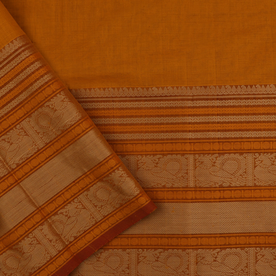 Kanakavalli Kanchi Cotton Sari 071-09-56411 - Blouse View