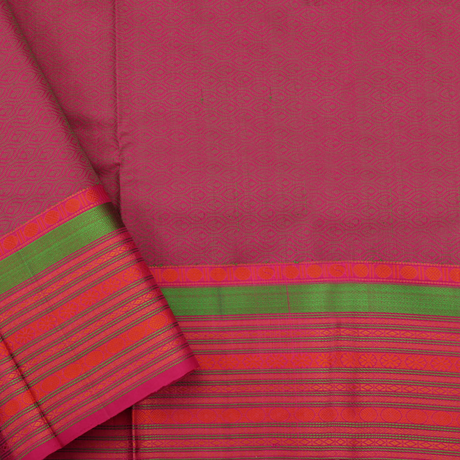 Kanakavalli Soft Silk Sari 071-01-66998 - Blouse View
