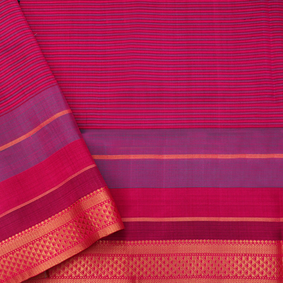 Kanakavalli Soft Silk Sari 260-25-79001 - Blouse View