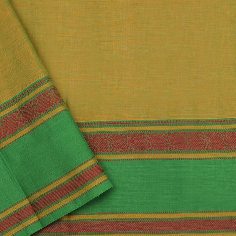Kanakavalli Kanchi Cotton Sari 071-09-102290 - Blouse View