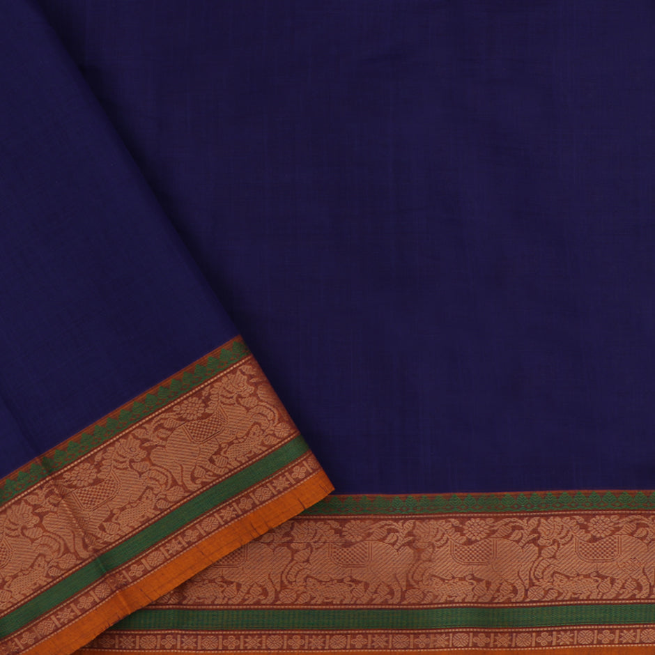 Kanakavalli Kanchi Cotton Sari 071-09-47687 - Blouse View
