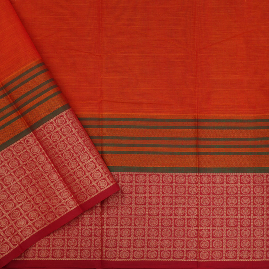 Kanakavalli Kanchi Cotton Sari 071-09-41579 - Blouse View