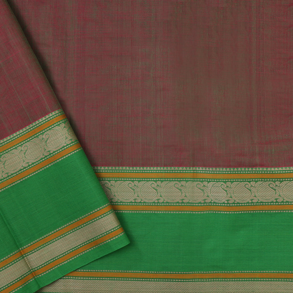 Kanakavalli Kanchi Cotton Sari 071-09-37945 - Blouse View