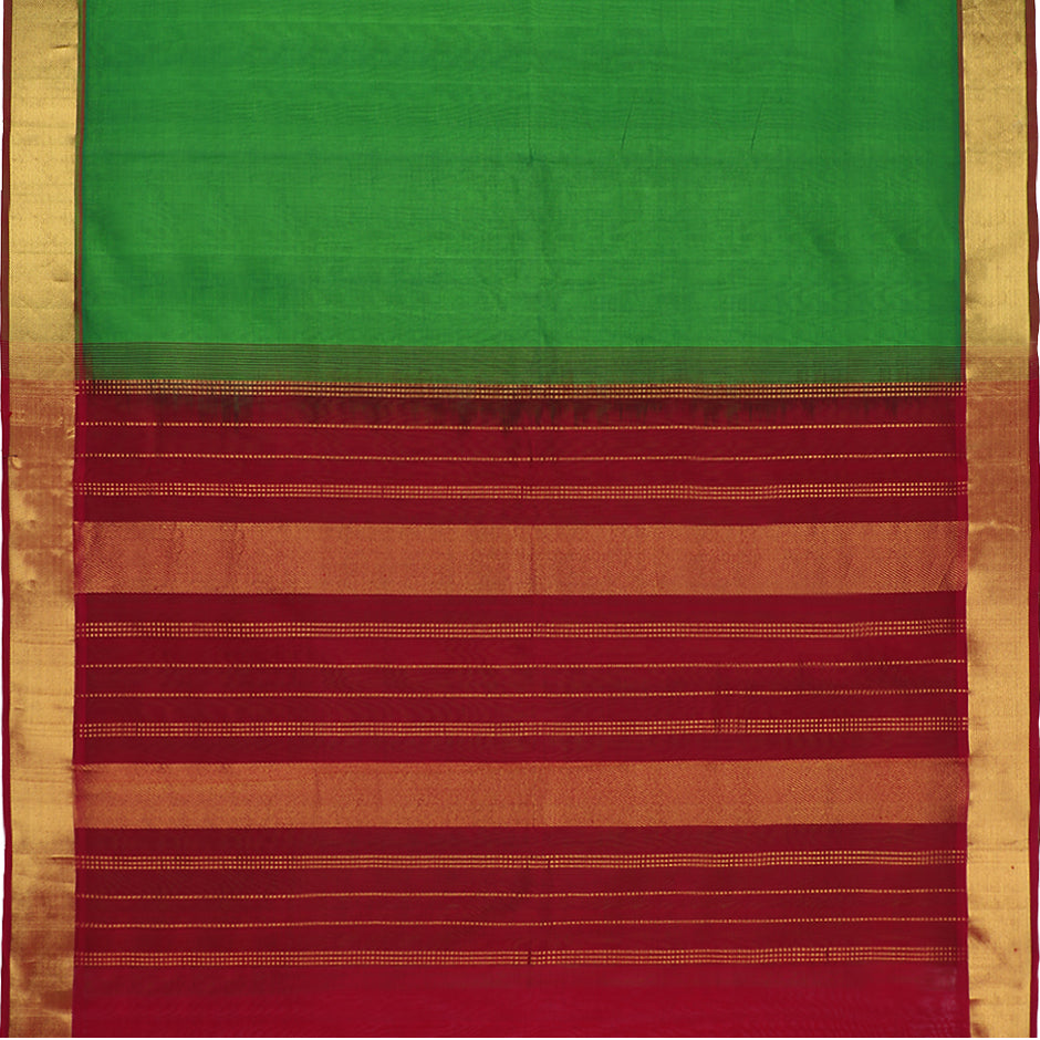 Kanakavalli Silk/Cotton Sari 071-08-41860 - Full View