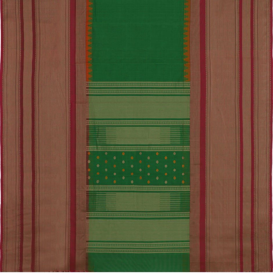 Kanakavalli Kanchi Cotton Sari 071-09-35651  - Full View