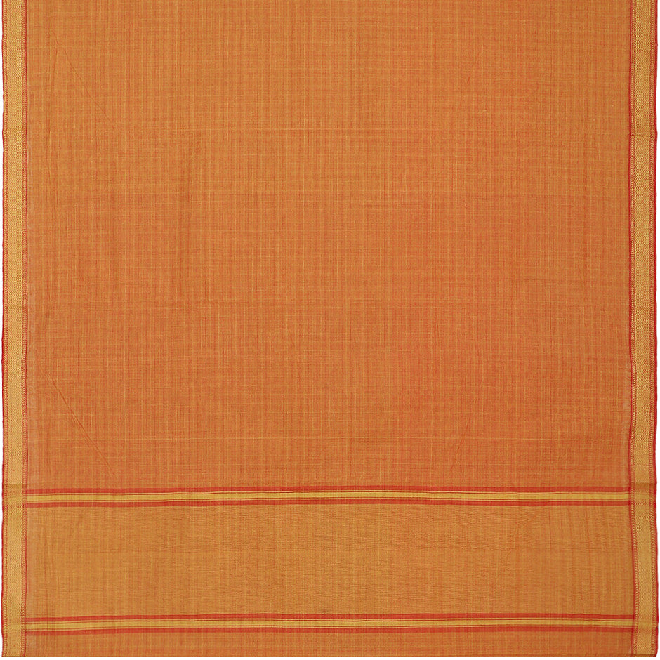 Kanakavalli Mangalgiri Cotton Sari 260-11-27101 - Full View