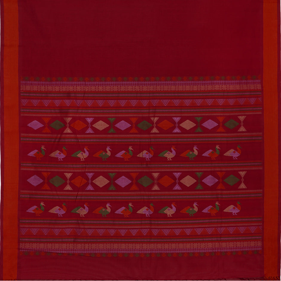 Kanakavalli Kanchi Cotton Sari 071-09-30651 - Full View