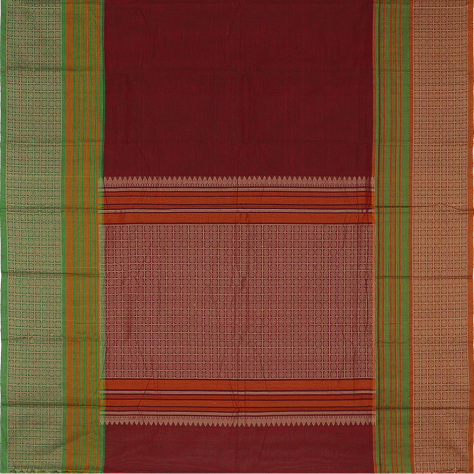Kanakavalli Kanchi Cotton Sari 071-09-35683 - Full View