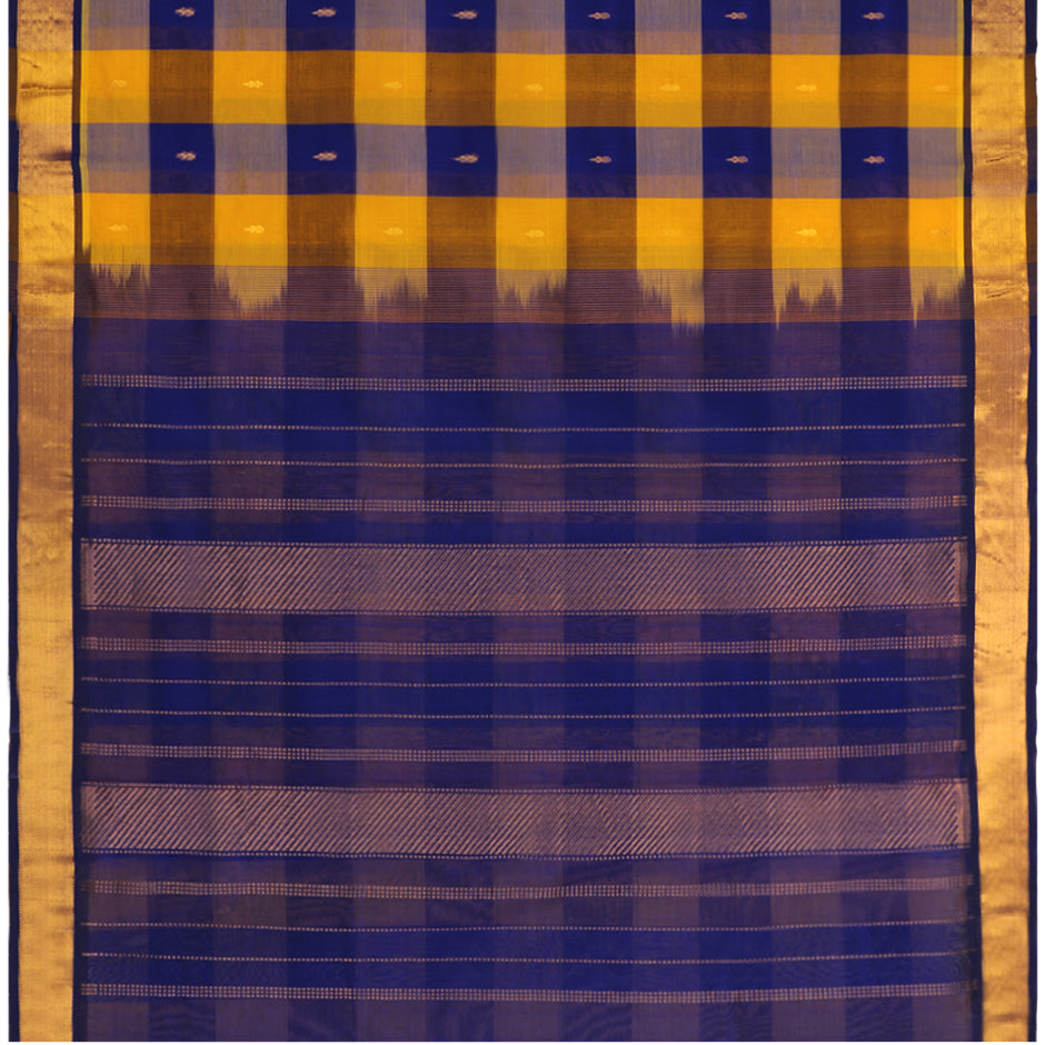 Kanakavalli Silk/Cotton Sari 550-08-90946 - Full View