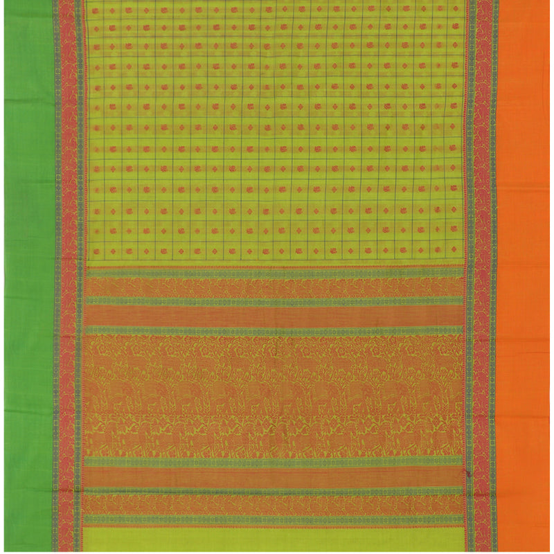Kanakavalli Kanchi Cotton Sari 071-09-79769 - Full View