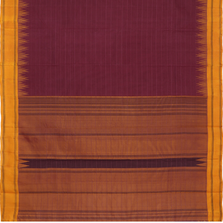 Kanakavalli Kanchi Cotton Sari 071-09-61464 - Full View