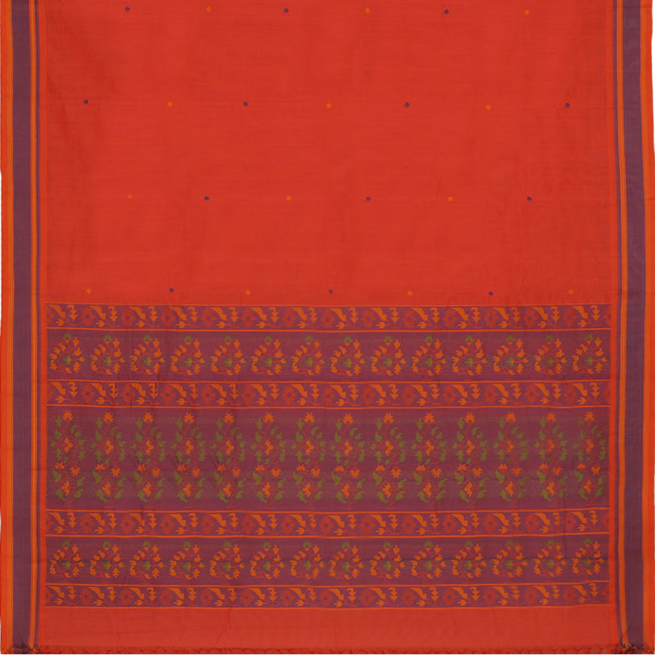 Kanakavalli Kanchi Cotton Sari 071-09-61771 - Full View