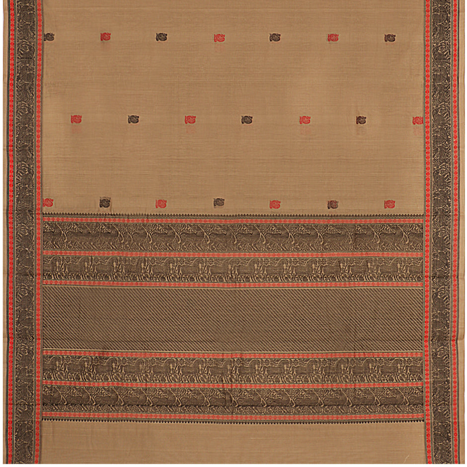 Kanakavalli Kanchi Cotton Sari 071-09-61804 - Full View