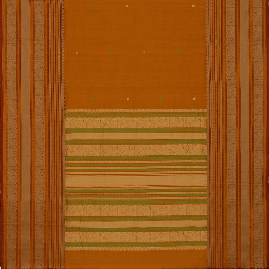 Kanakavalli Kanchi Cotton Sari 071-09-56411 - Full View