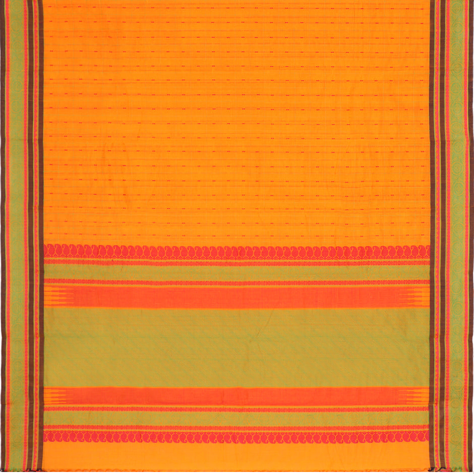 Kanakavalli Kanchi Cotton Sari 071-09-56499 - Full View