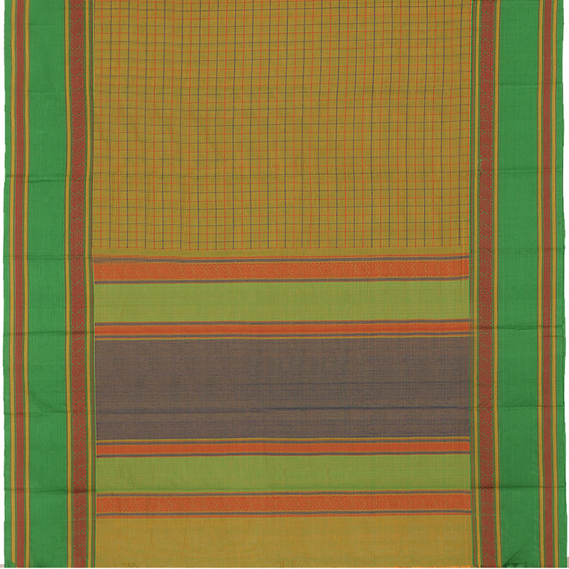 Kanakavalli Kanchi Cotton Sari 071-09-102290 - Full View