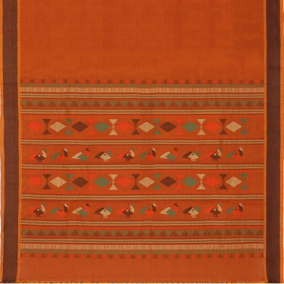 Kanakavalli Kanchi Cotton Sari 071-09-56432 - Full View