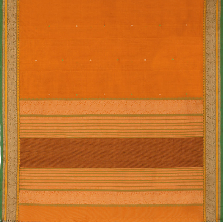 Kanakavalli Kanchi Cotton Sari 071-09-59544 - Full View