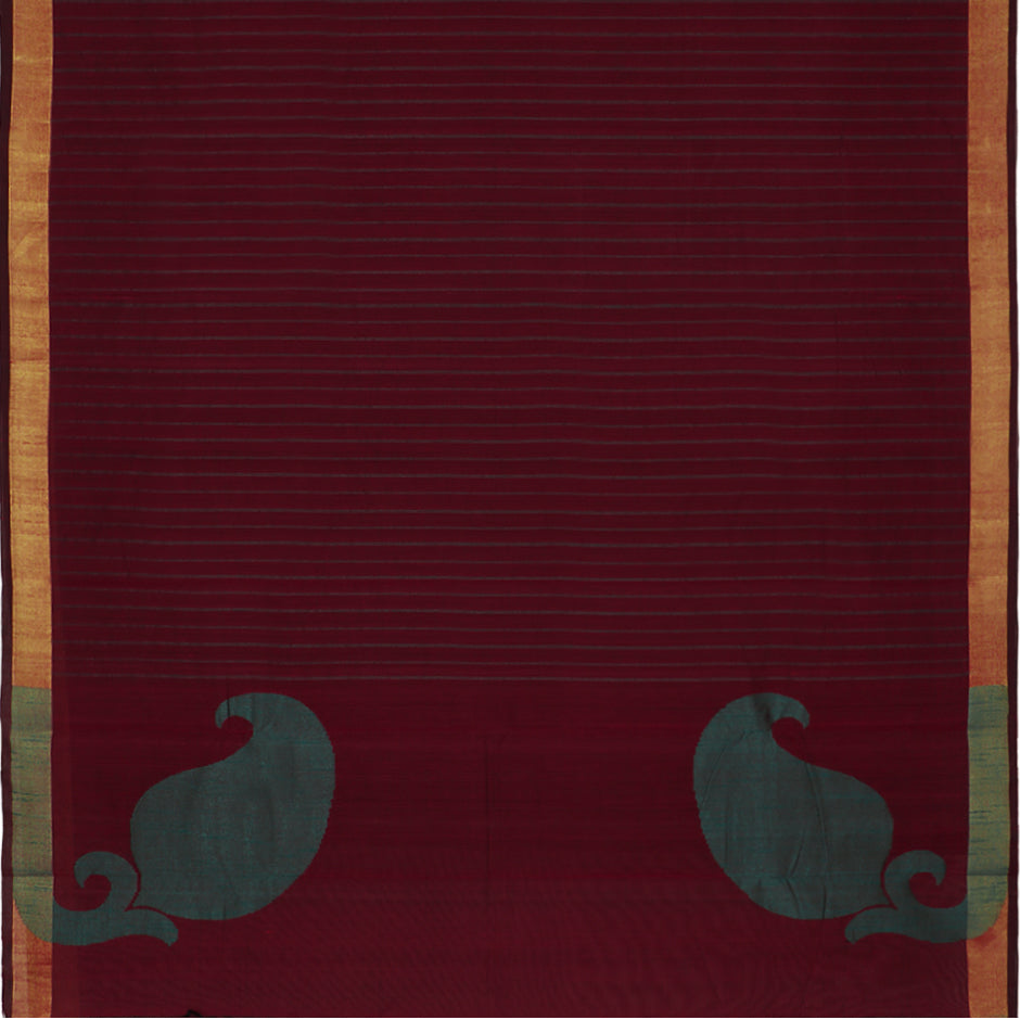 Kanakavalli Kanchi Cotton Sari 071-09-47781 - Full View