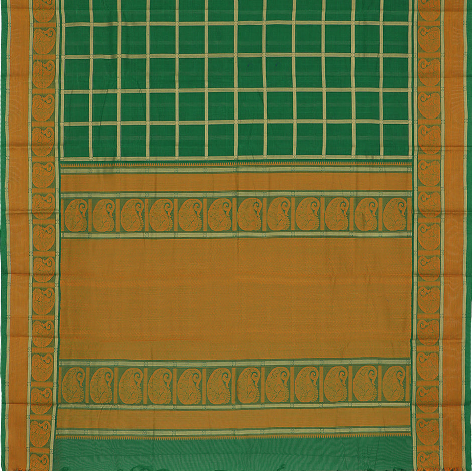 Kanakavalli Kanchi Cotton Sari 071-09-41774 - Full View