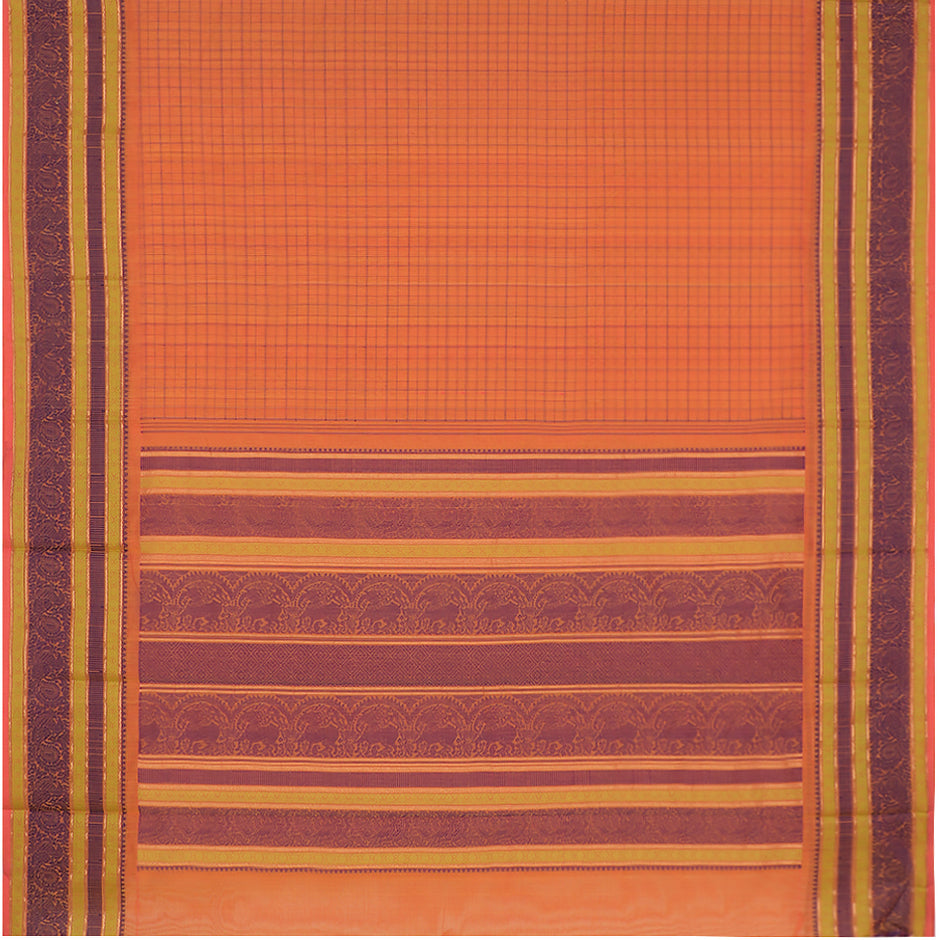 Kanakavalli Kanchi Cotton Sari 071-09-92239 - Full View