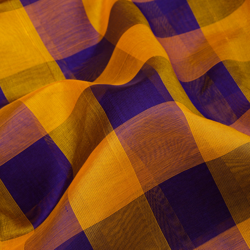 Kanakavalli Silk/Cotton Sari 550-08-78767 - Fabric View