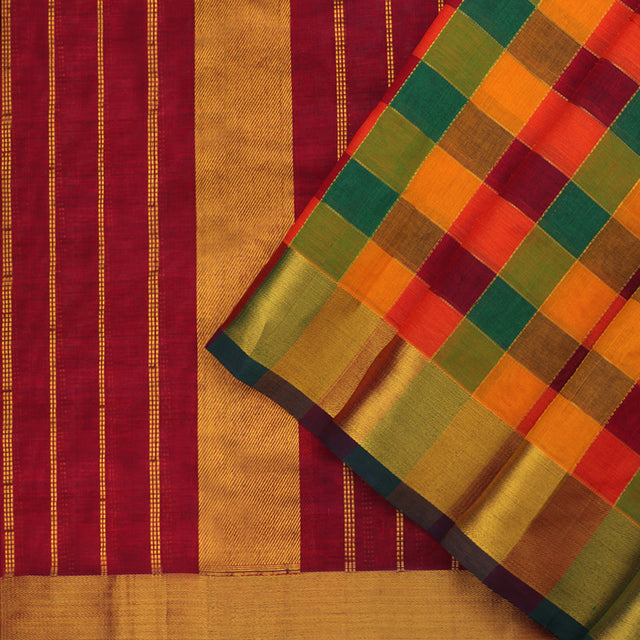 Kanakavalli Silk/Cotton Sari 550-08-92963 - Cover View