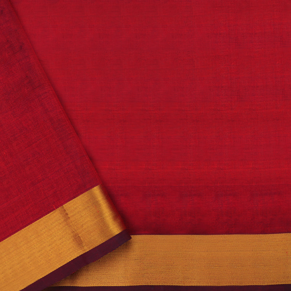 Kanakavalli Silk/Cotton Sari 550-08-92963 - Blouse View