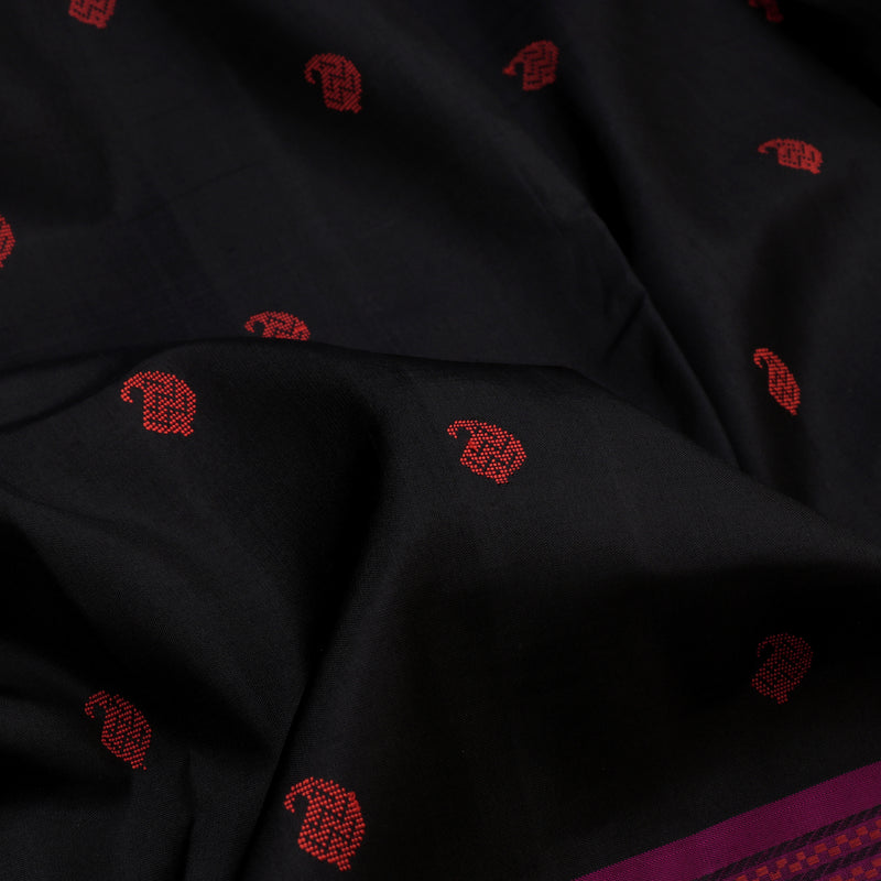 Kanakavalli Soft Silk Sari 560-01-107192 - Fabric View